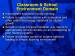 classroom school environment domain40