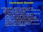 curriculum domain38