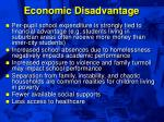 economic disadvantage49