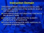 instruction domain29