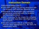 instruction domain30