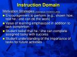 instruction domain34