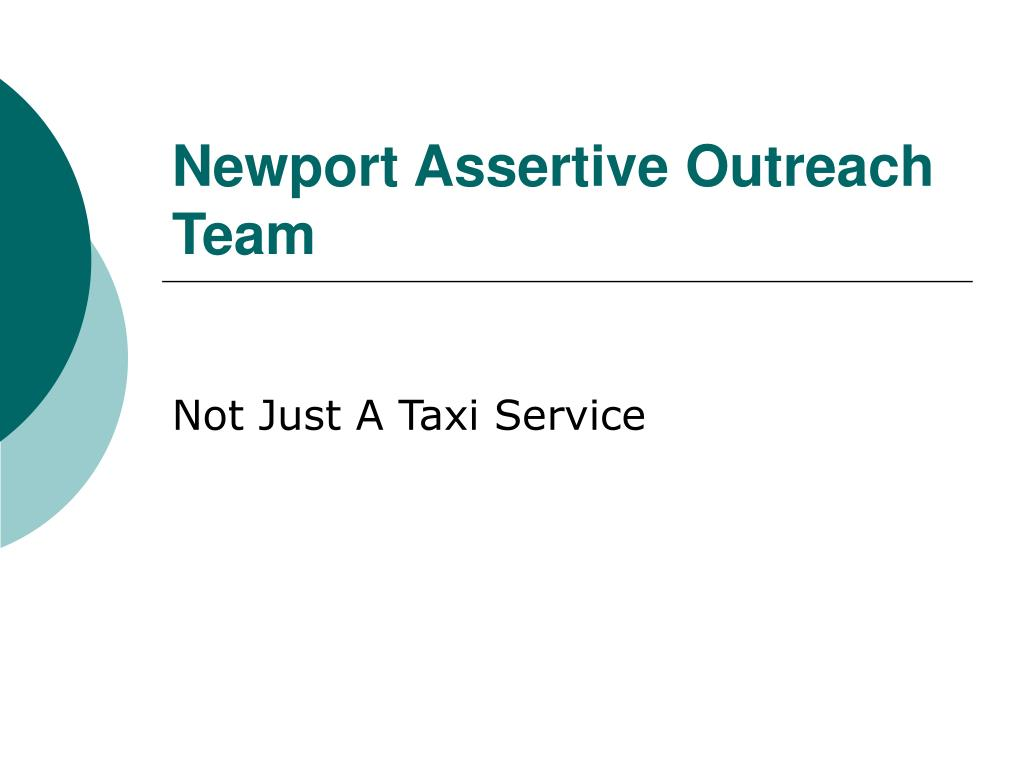 newport assertive outreach team l.