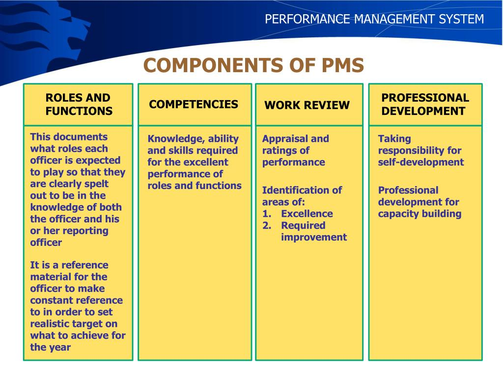 PERFORMANCE MANAGEMENT SYSTEM