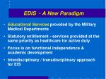 edis a new paradigm