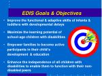 edis goals objectives