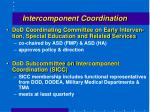 intercomponent coordination