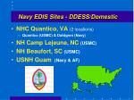 navy edis sites ddess domestic
