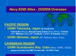 navy edis sites dodds overseas