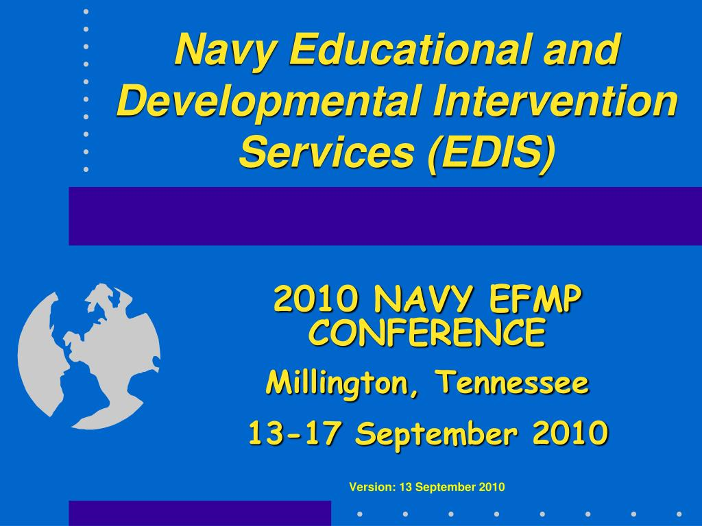 navy educational and developmental intervention services edis l.