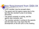 new requirement from idea 04