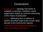 conclusions38