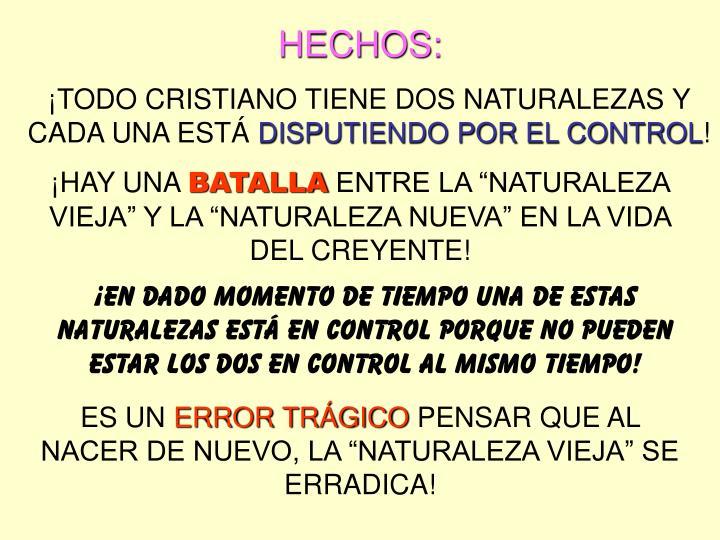 HECHOS: