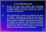 cuti sabatikal samb
