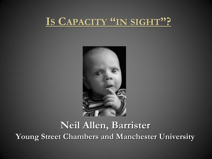 neil allen barrister young street chambers and manchester university n.