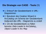 die strategie von case tools 1