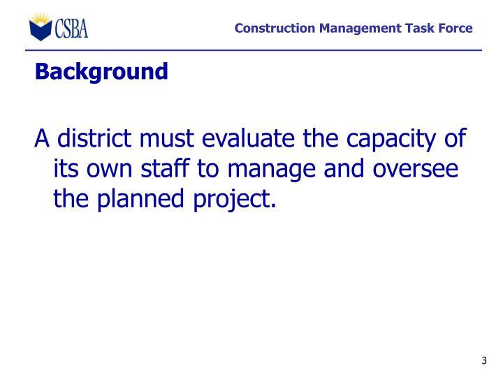 Construction management task force1