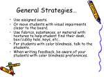 general strategies5