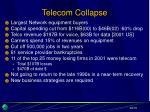 telecom collapse