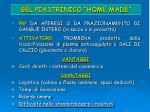 gel piastrinico home made