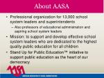 about aasa