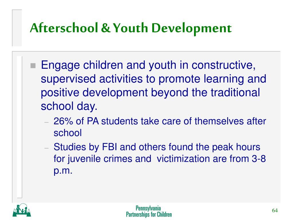 Afterschool & Youth Development