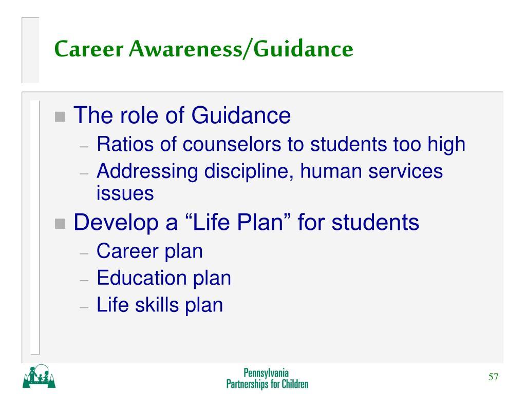Career Awareness/Guidance
