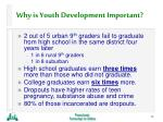 why is youth development important