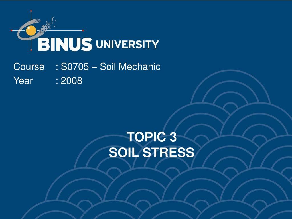 topic 3 soil stress l.