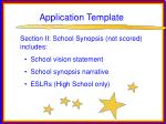 application template71