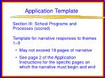 application template72