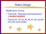 rubric design45