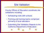site validation28