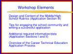 workshop elements4