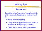 writing tips64
