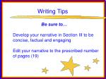 writing tips66