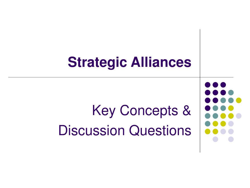 strategic alliances l.