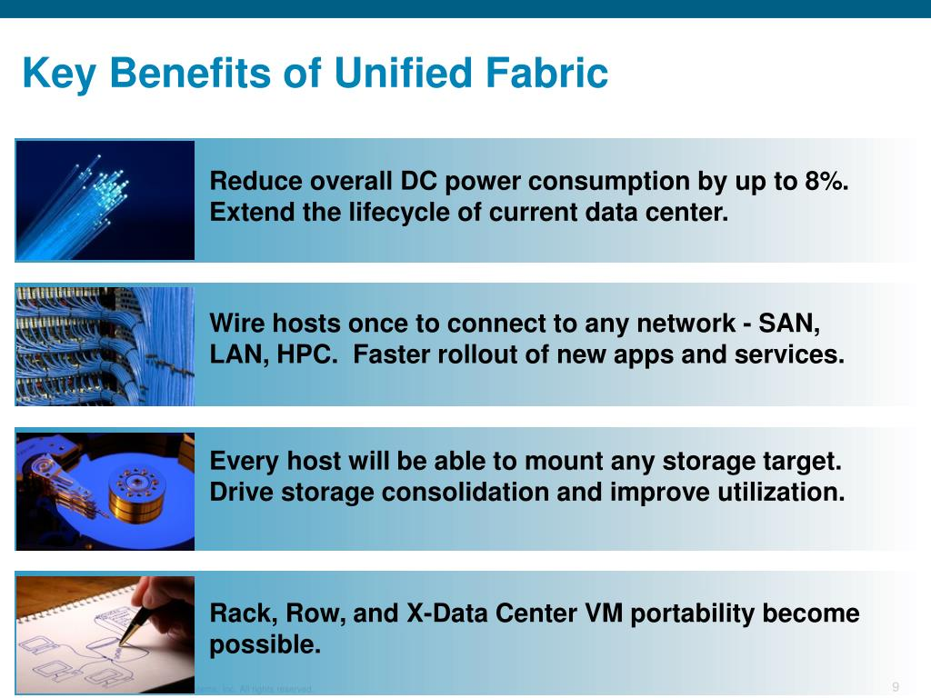 Key Benefits of Unified Fabric