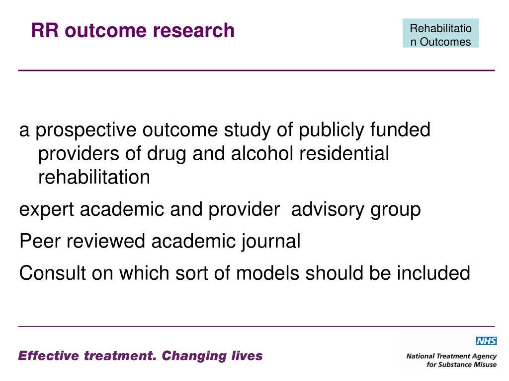 RR outcome research