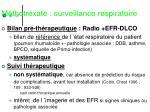 m thotrexate surveillance respiratoire