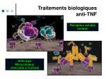 traitements biologiques anti tnf