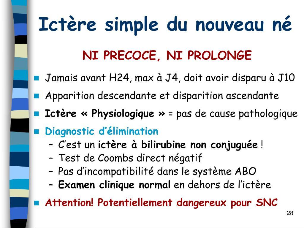 PPT - ICTERES DU NOUVEAU-NE PowerPoint Presentation - ID:462264