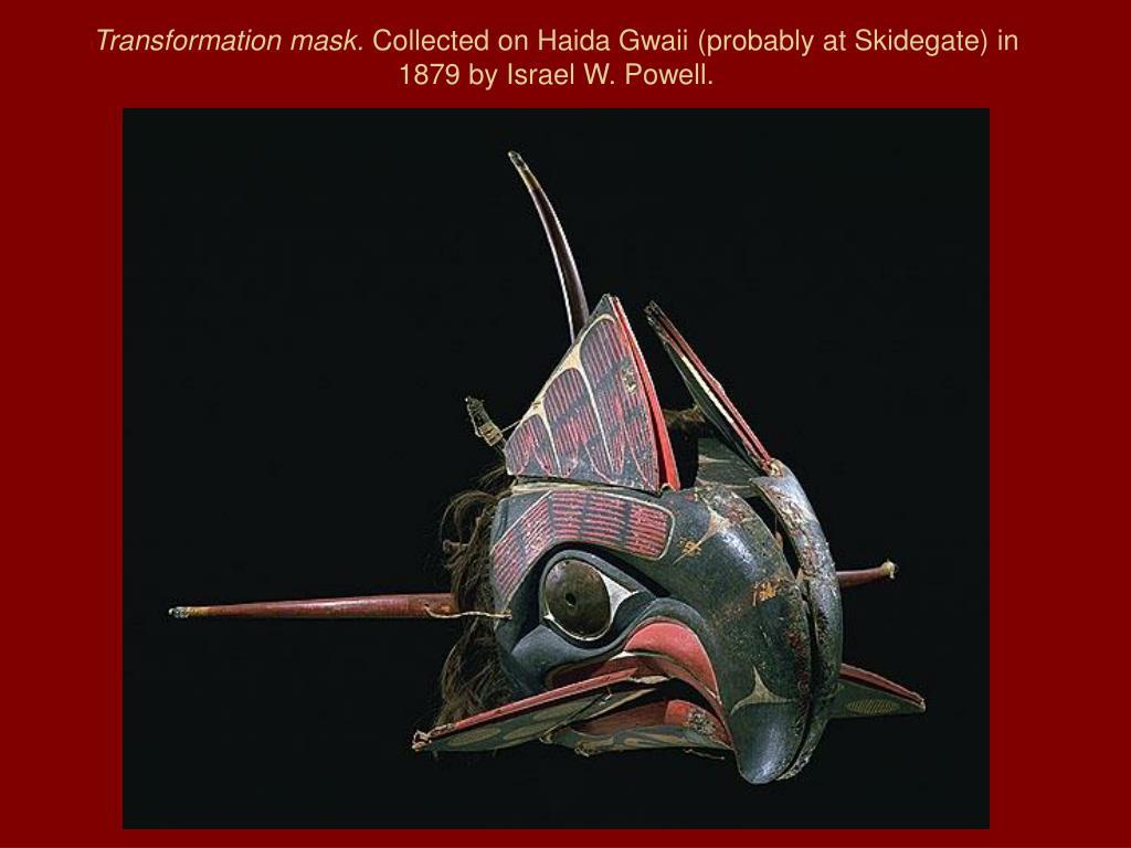 Transformation mask.