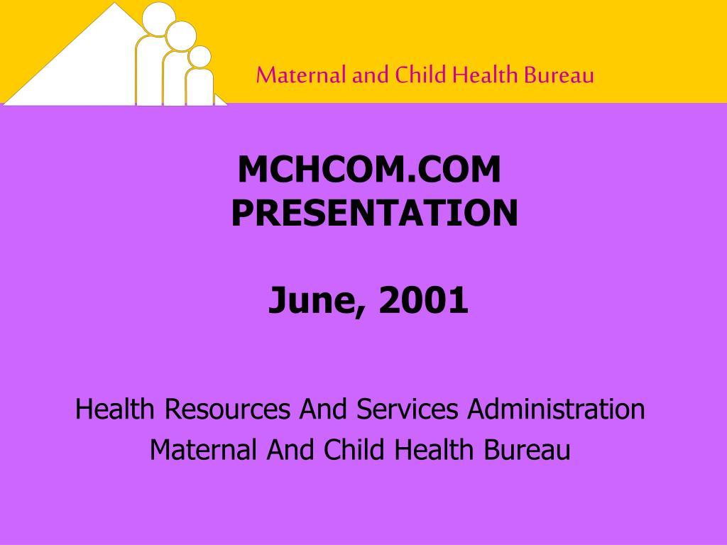 mchcom com presentation june 2001 l.
