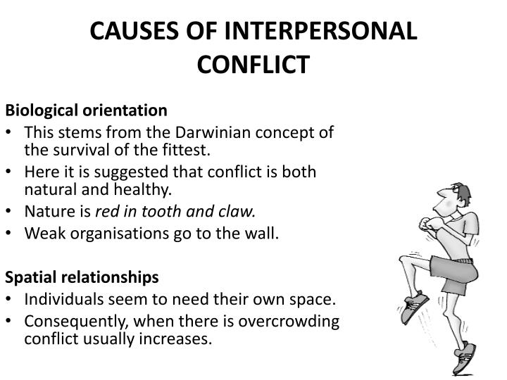 interpersonal conflict case Objective there have been concerns about the workplace interpersonal conflict (wic) among healthcare workers as healthcare organizations have there was a significant difference in the distribution of worker job types between cases focused on the interpersonal relationship and.