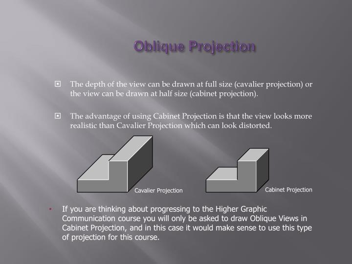 Oblique projection1