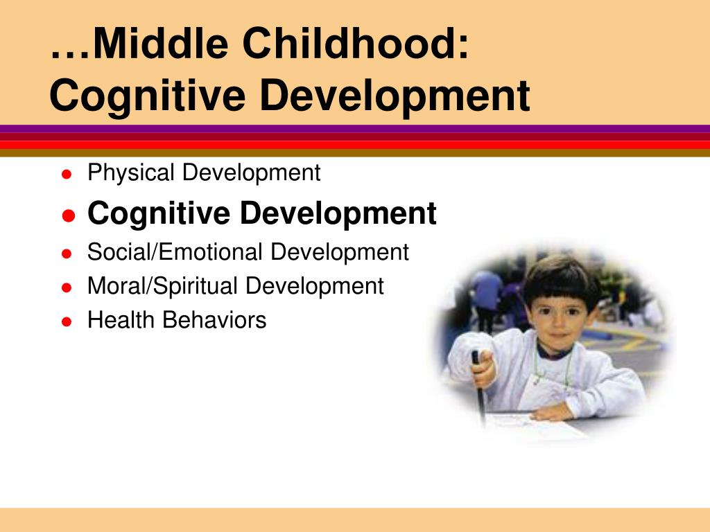 child cognitive development For 6-year-old children, cognitive development will step up to a whole new level as they tackle reading and math and learn more about the world.