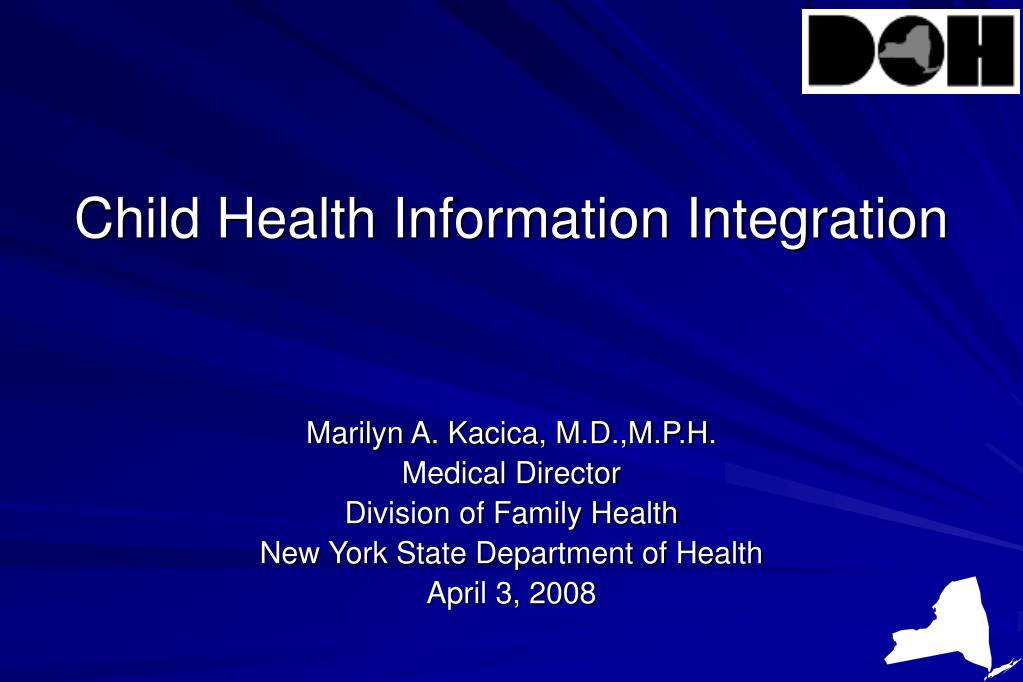 child health information integration l.