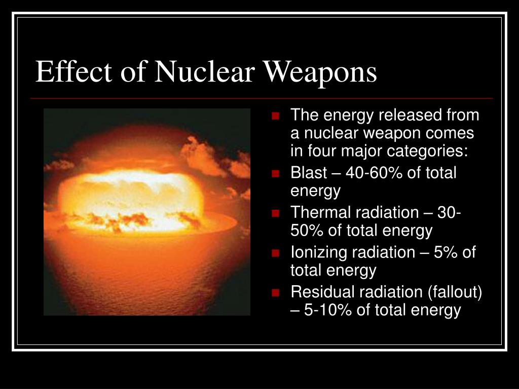 the effects of nuclear weapons on Notice: the project that is the subject of this report was approved by the governing board of the national research council, whose members are drawn from the councils of the national academy of sciences, the national academy of engineering, and the institute of medicine the members of the committee.