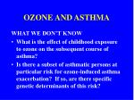 ozone and asthma12
